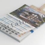 Календарь на деревянном шпателе